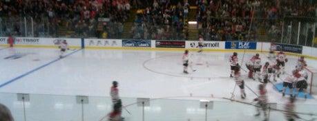 UVM Gutterson Fieldhouse is one of 2012-13 Merrimack College Hockey Road Trips.