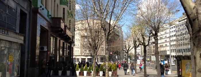 Terazije is one of Belgrade.