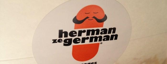Herman ze German is one of Restaurants.