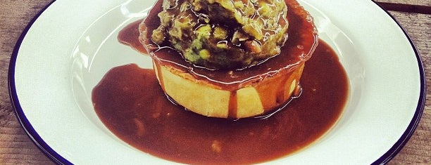 Pieminister is one of Shoreditch.