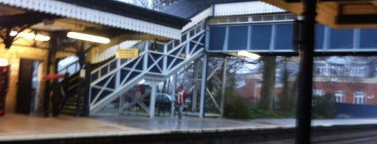 Stroud Railway Station (STD) is one of Railway stations I've been to.