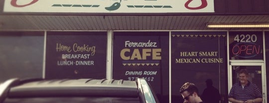 Fernandez Cafe is one of Restaurants to try.