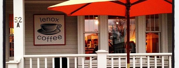 Lenox Coffee is one of Berkshires.