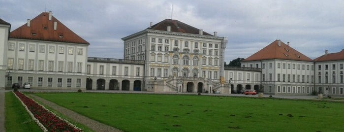 Schloss Nymphenburg is one of StorefrontSticker #4sqCities: Munich.