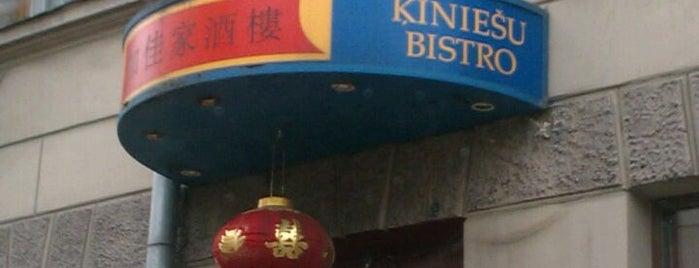Xin Či ķīniešu bistro is one of Food riga.