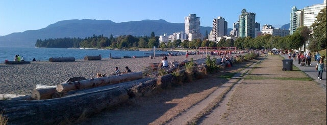 English Bay Beach is one of Vancouver/ Canadá.