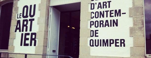 Le Quartier - Centre d'Art Contemporain is one of Quimper.