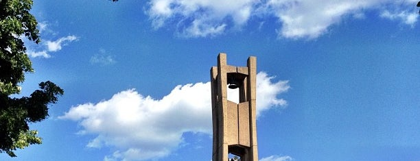 The Bell Tower is one of Temple University.