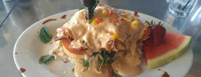 Hash House A Go Go is one of places in vegas.