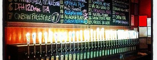 Ebenezer's Brewpub is one of New England Breweries.