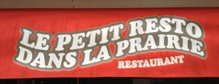 Le Petit Resto dans la Prairie is one of Restos favoris.