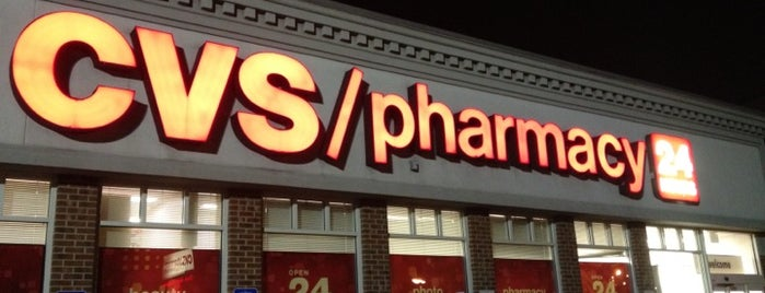 CVS/pharmacy is one of Faves.