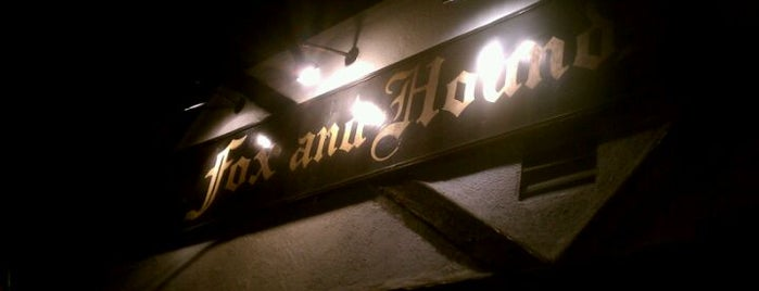 The Fox & Hounds is one of I'm in L.A. you trick!.
