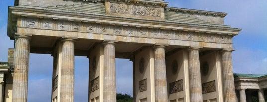 Brandenburg Gate is one of Berlin, Germany.