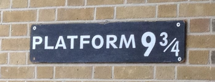 Platform 9¾ is one of Hand Drawn Map of London.