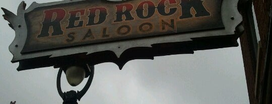 Red Rock Saloon is one of Man v Food Nation.