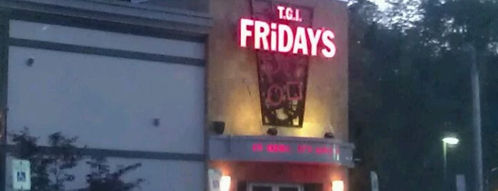 TGI Fridays is one of Been Here.