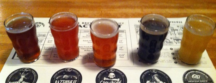 Oaken Barrel Brewing Company is one of Places to eat in INDY.
