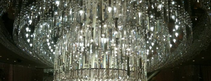 The Chandelier is one of Las Vegas- Cosmopolitan.