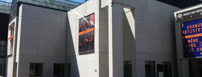 Musée d'art contemporain de Montréal (MACM) is one of YUL.