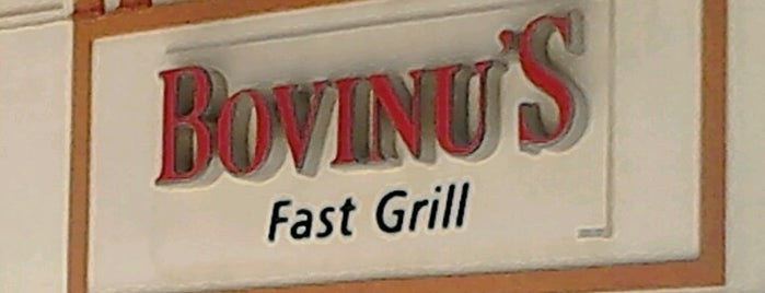 Bovinu's Fast Grill is one of Restaurantes no centro (ou quase).