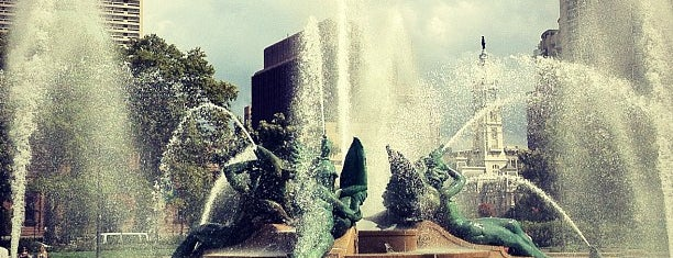 Swann Memorial Fountain is one of NEPA/SEPA/Phila Parks.