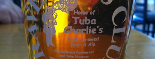 Travelers Club International Restaurant and Tuba Museum is one of Breweries to Visit.