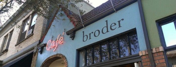 Bröder Cafe is one of Portland.