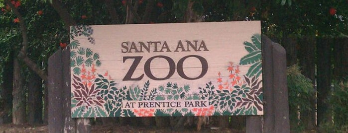 Santa Ana Zoo is one of Places for Alexandria.