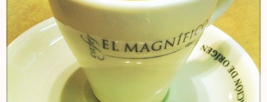 Cafés El Magnífico is one of Eat & Drink / Come y bebe.