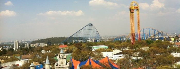 Six Flags México is one of ¡Cui Cui ha estado aquí!.