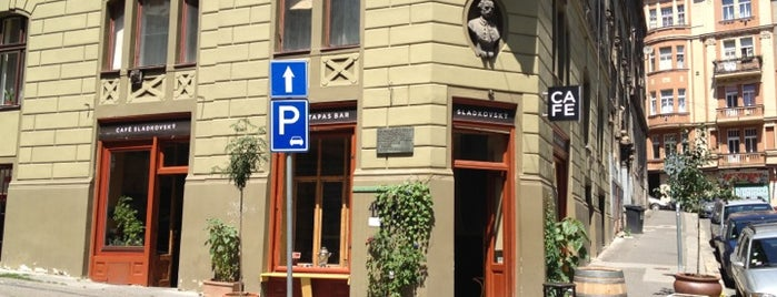 Café Sladkovský is one of The 15 Best Places for Burgers in Prague.