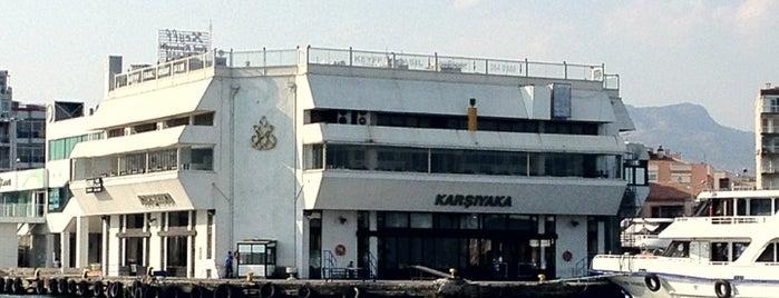 Karşıyaka Vapur İskelesi is one of Veni Vidi Vici İzmir 1.