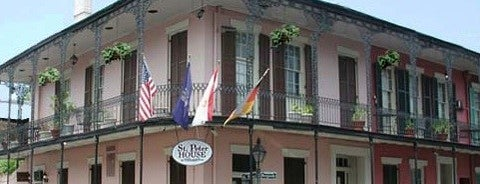 St. Peter House Hotel New Orleans is one of Dead Rock Star Tour.
