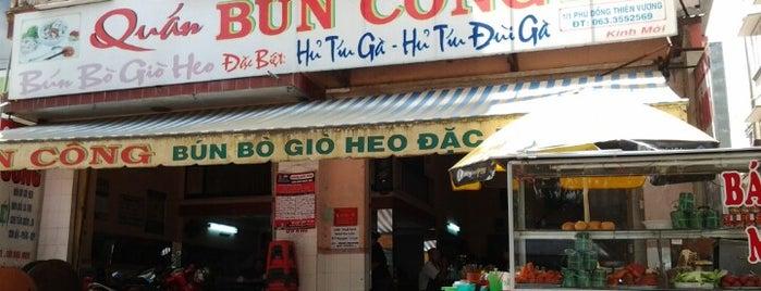 Bun Cong is one of Đà Lạt.
