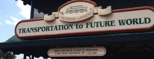 Friendship Boat Dock - Morocco is one of Epcot World Showcase.