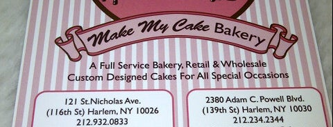 Make My Cake is one of Manhattan.
