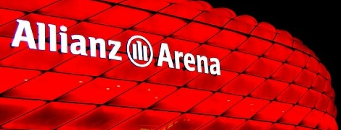 Allianz Arena is one of Best Stadiums.