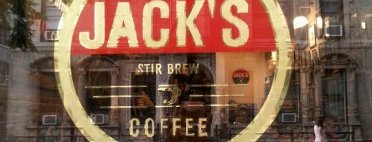 Jack's Stir Brew Coffee is one of Notable Coffee Shops (NYC).