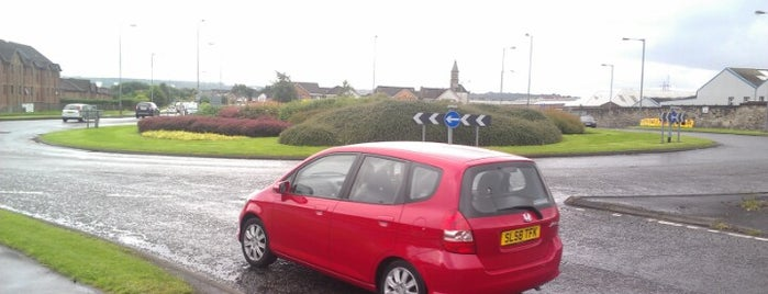 Carron Roundabout is one of Named Roundabouts in Central Scotland.
