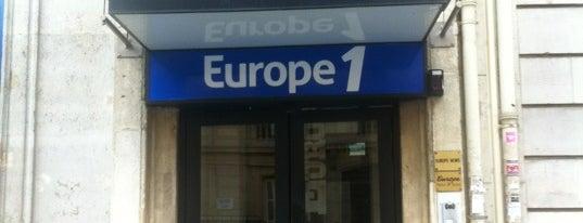 Europe 1 is one of Bureaux à Paris.