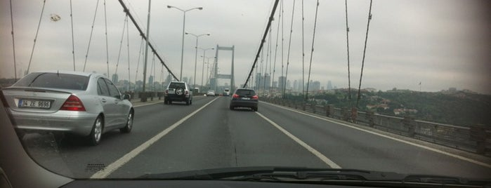 Bosphorus Bridge is one of Kuyumcu.