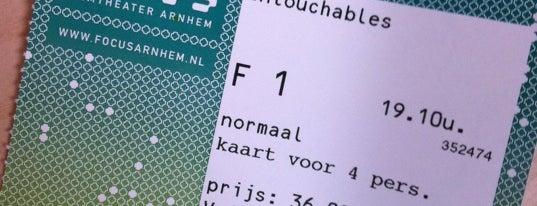 Focus Filmtheater is one of Hotspots in Arnhem by As We Speak.