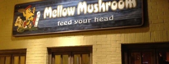 Mellow Mushroom is one of VA is for Wahoos.