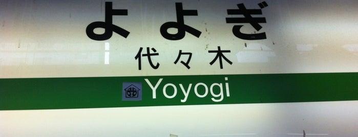 Yoyogi Station is one of Tokyo JR Yamanote Line.