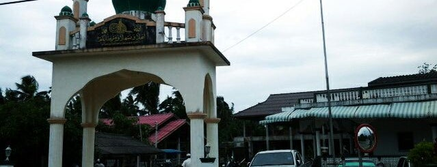 มัสยิดดารุนนาอีม บ้านทุ่งใหญ่ is one of ร้านอาหารมุสลิม.