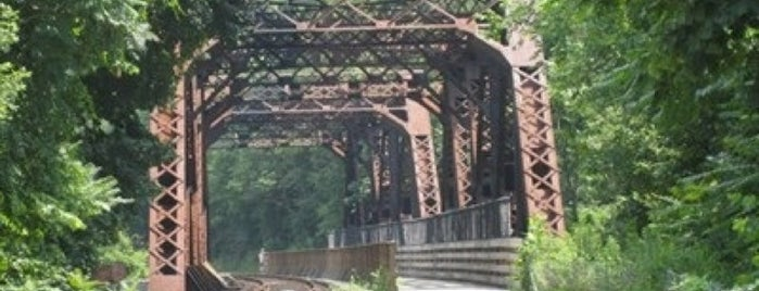 Western Maryland Railroad Bridge is one of Cumberland, Maryland Must See & Do!.