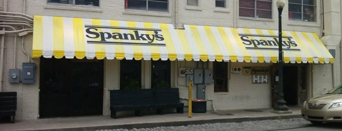 Spanky's Pizza Gallery & Saloon is one of Savannah - Always More to Discover!.