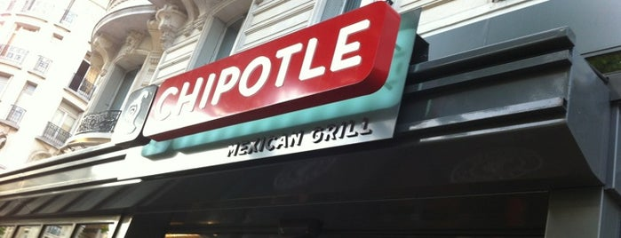 Chipotle Mexican Grill is one of Restaurants.