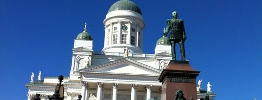 Senate Square is one of NYer in Helsinki.